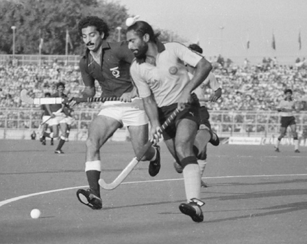 When Rajinder's Hat-trick Propelled India to Come-From-Behind 5-4 win over Pakistan at 1982  Amstelveen Champions Trophy